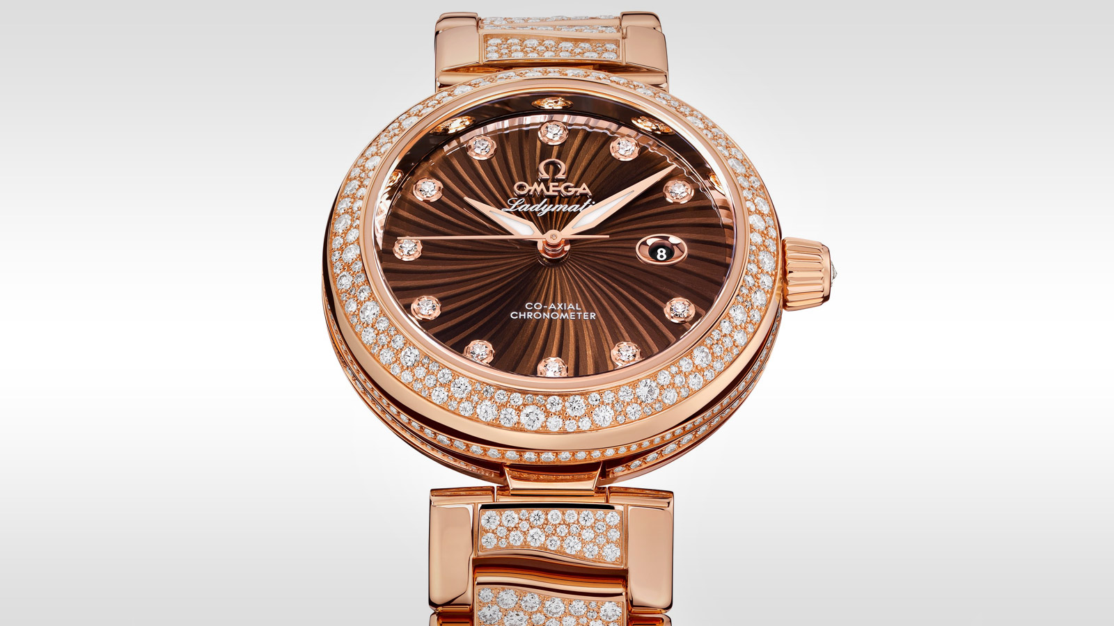 De Ville Ladymatic Ladymatic Omega Co‑Axial 34 mm - 425.65.34.20.63.003 - Vista 1