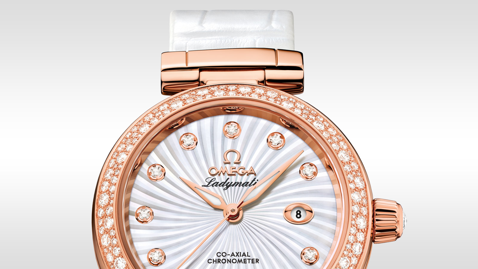 De Ville Ladymatic Ladymatic Omega Co‑Axial 34 mm - 425.68.34.20.55.004 - Visualizzare 1
