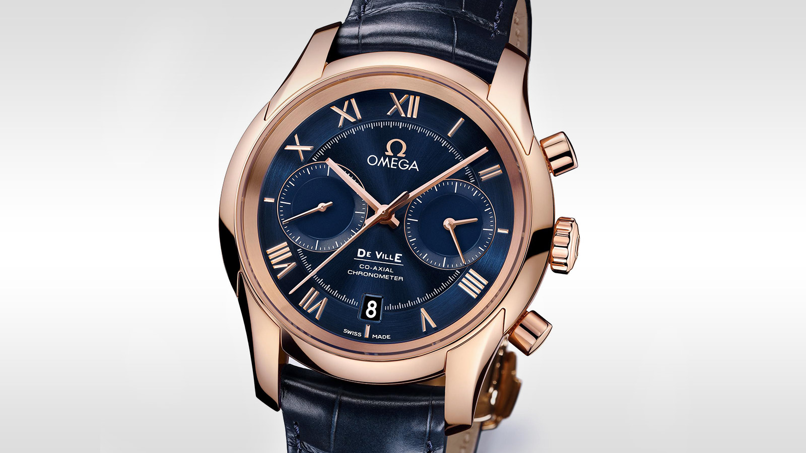 De Ville GENTS' COLLECTION De Ville Omega Co‑Axial Chronograph 42 mm - 431.53.42.51.03.001 - View 2