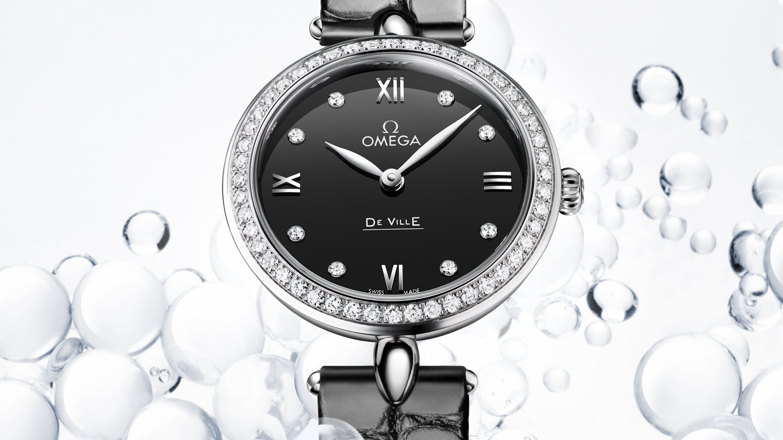 De Ville Prestige Prestige Quartz 27,4 mm - 424.18.27.60.51.001 - Visualizzare 1