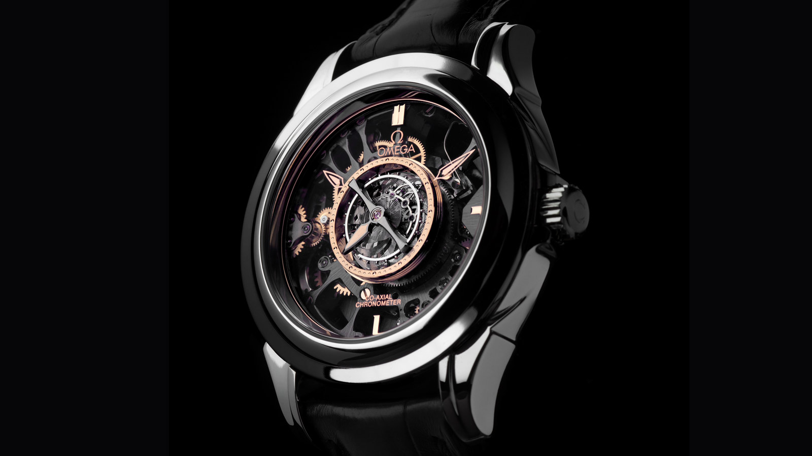 De Ville TOURBILLON Tourbillon Co‑Axial Limitierte Edition 38,7 mm - 513.93.39.21.99.001 - Anzeigen 1