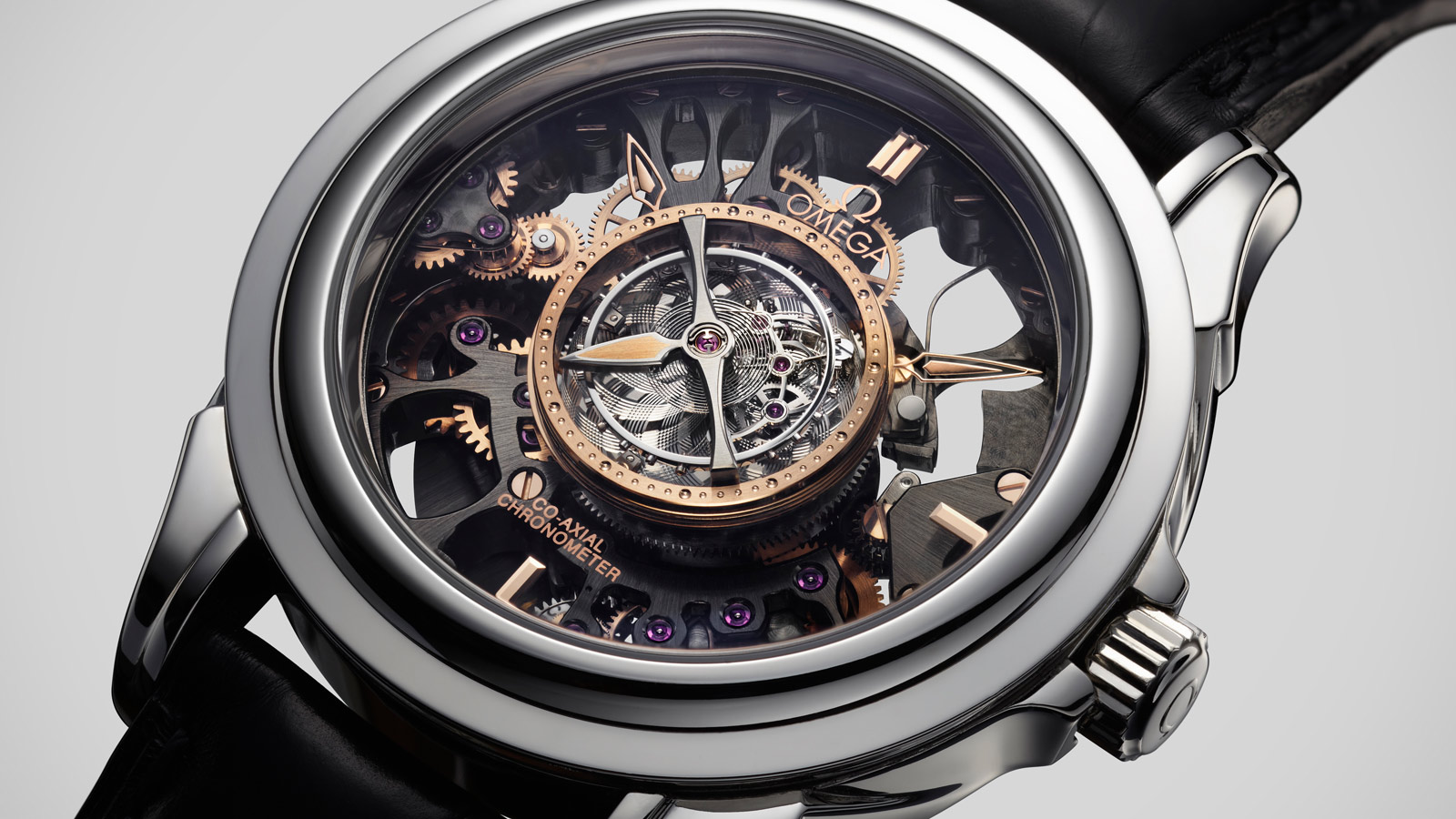 De Ville TOURBILLON Tourbillon Co‑Axial Limitierte Edition 38,7 mm - 513.93.39.21.99.001 - Anzeigen 2