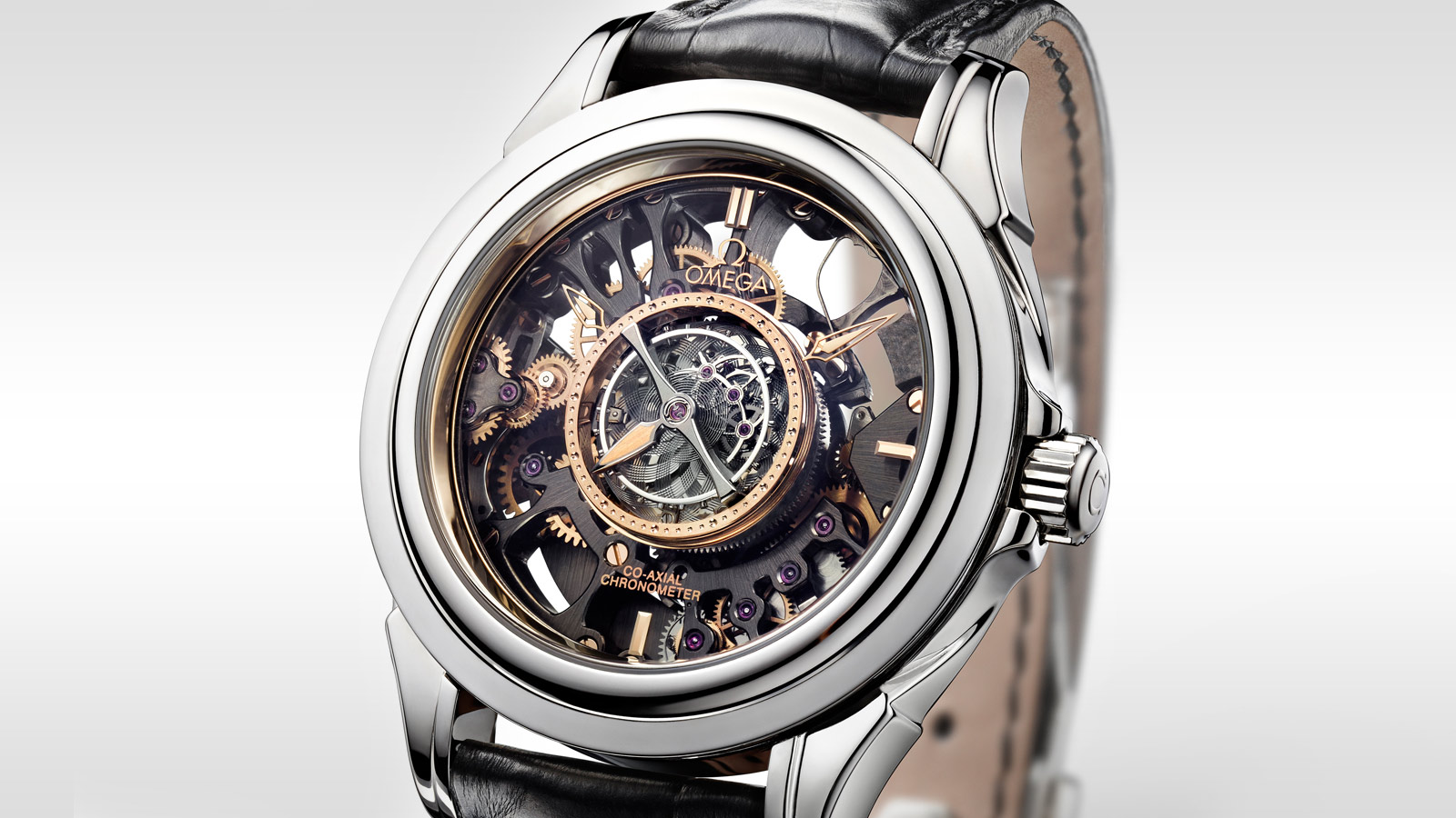 De Ville TOURBILLON Tourbillon Co‑Axial Limitierte Edition 38,7 mm - 513.93.39.21.99.001 - Anzeigen 3