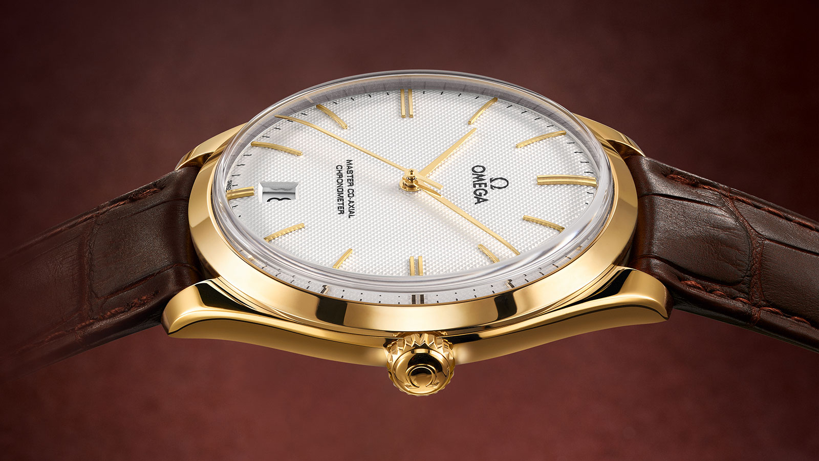 De Ville TRÉSOR Trésor Omega Master Co‑Axial 40 mm Watch - 432.53.40.21.02.001