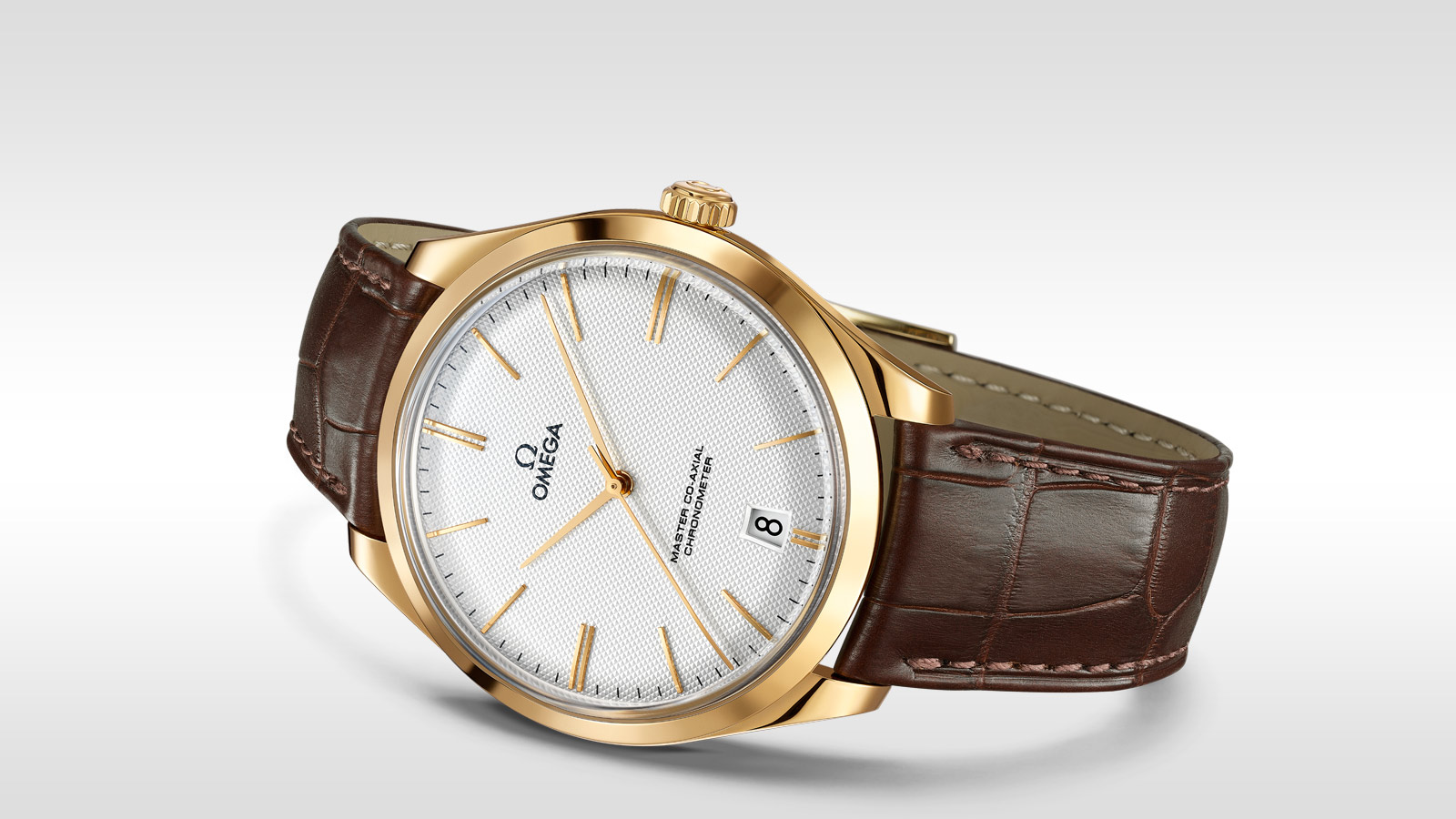 De Ville TRÉSOR Trésor Omega Master Co‑Axial 40 mm - 432.53.40.21.02.002 - Visualizzare 3