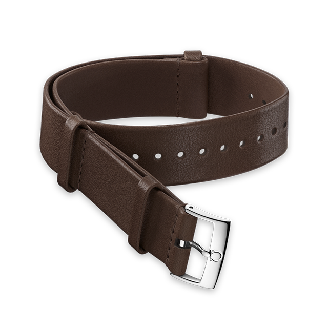 Brown Novonappa leather strap - 031CUZ010751