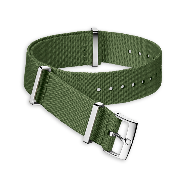 Military green polyester strap - 031CWZ011500