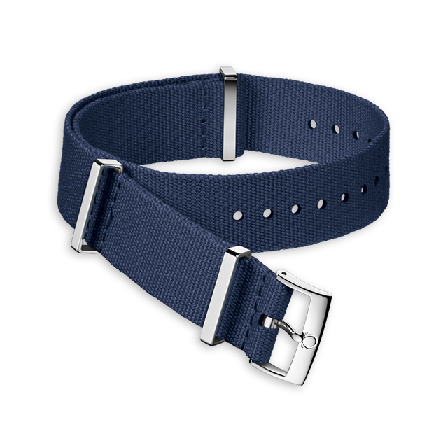 Blue polyester strap - 031CWZ011614