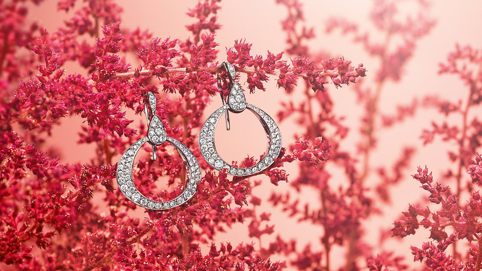 Omega Dewdrop Earring Omega Dewdrop Earring - E57BCA0200405 - View 1