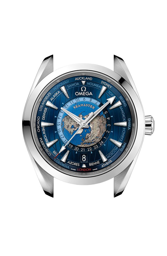 Co-Axial Master Chronometer GMT Worldtimer 43 mm - 220.10.43.22.03.001