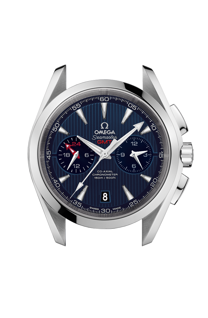 Aqua Terra 150M Co-Axial Chronometer GMT Chronograph 43 mm - 231.10.43.52.03.001