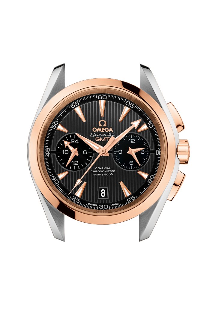 Co-Axial Chronometer GMT Chronograph 43 mm - 231.20.43.52.06.001