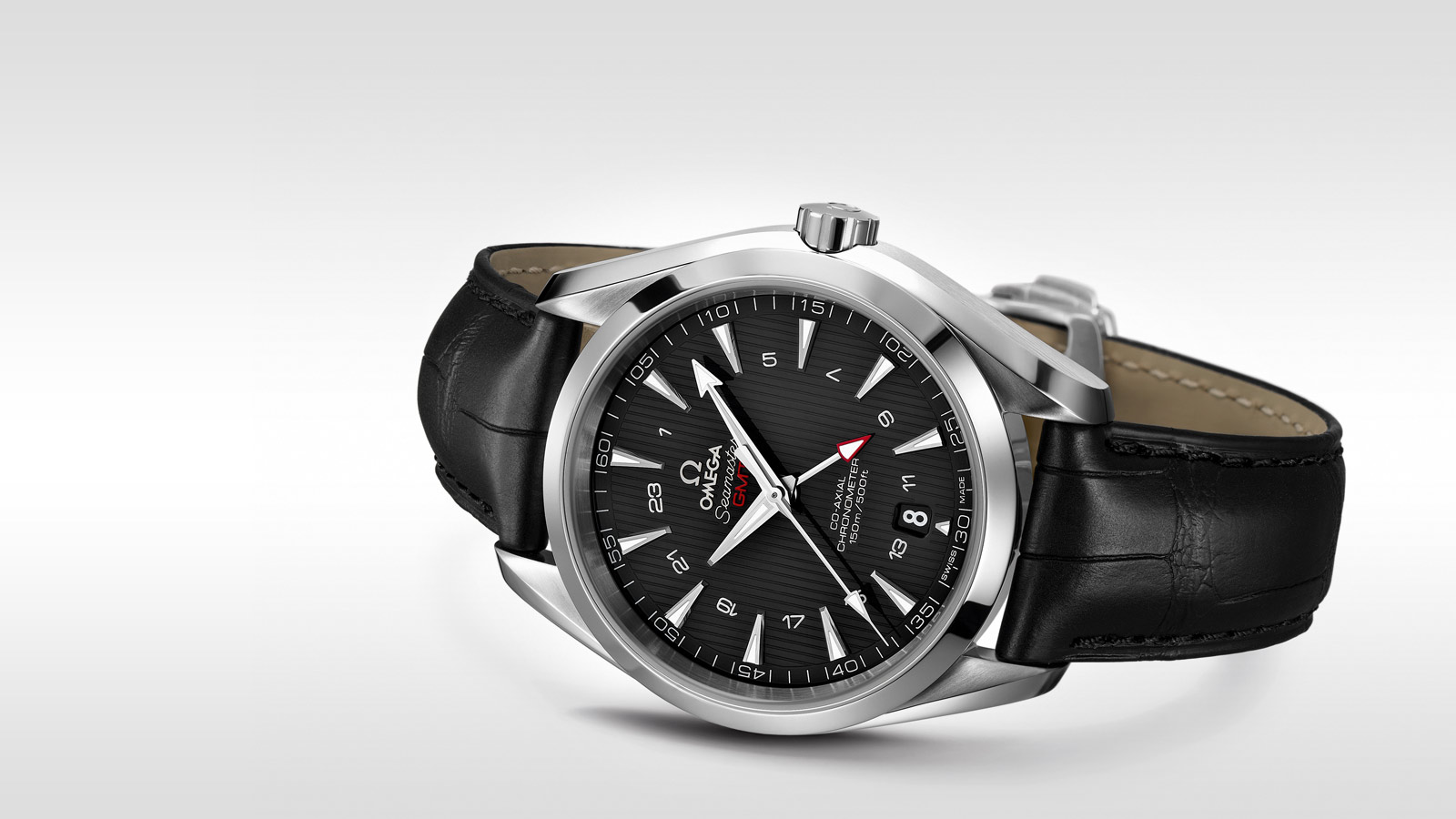 Seamaster Aqua Terra 150M Aqua Terra 150M Omega Co‑Axial GMT 43 mm - 231.13.43.22.01.001 - Visualizzare 1