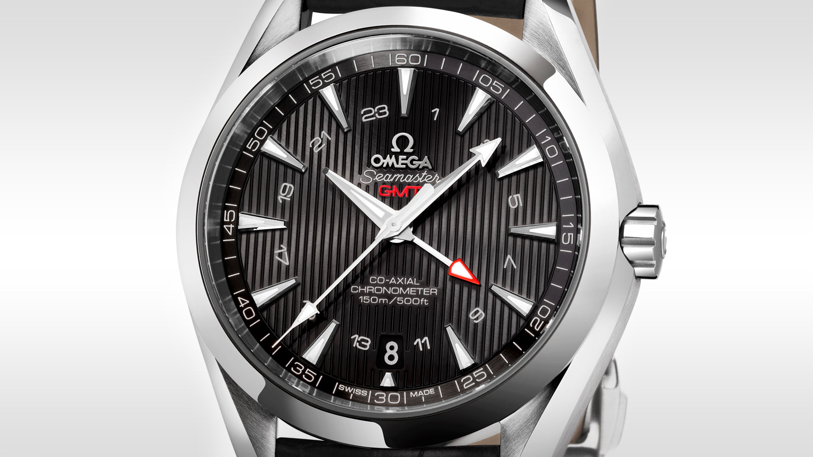 Seamaster Aqua Terra 150M Aqua Terra 150M Omega Co‑Axial GMT 43 mm - 231.13.43.22.01.001 - Visualizzare 2