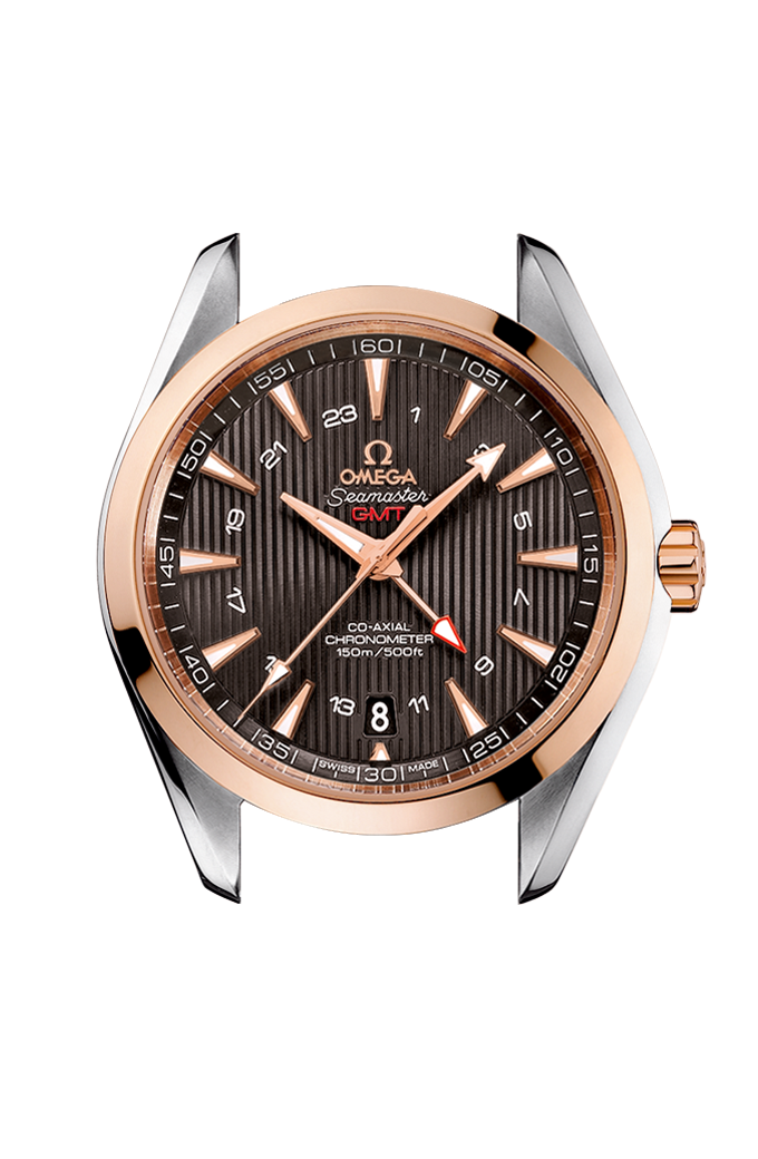 Omega Co-Axial GMT 43 mm - 231.20.43.22.06.003