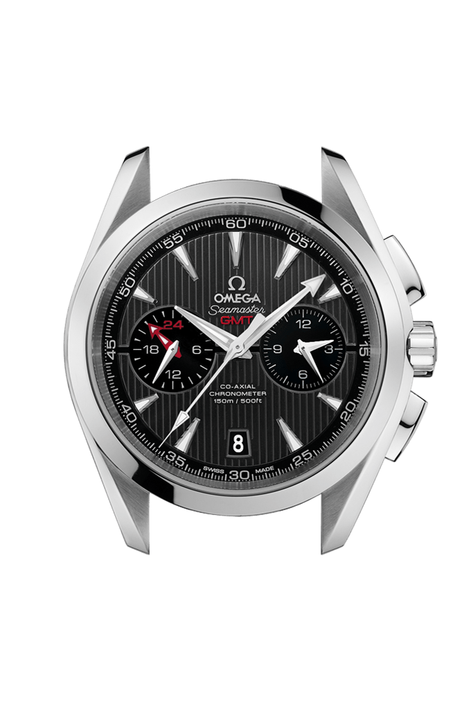 Aqua Terra 150M Omega Co-Axial GMT Chronograph 43 mm - 231.13.43.52.06.001
