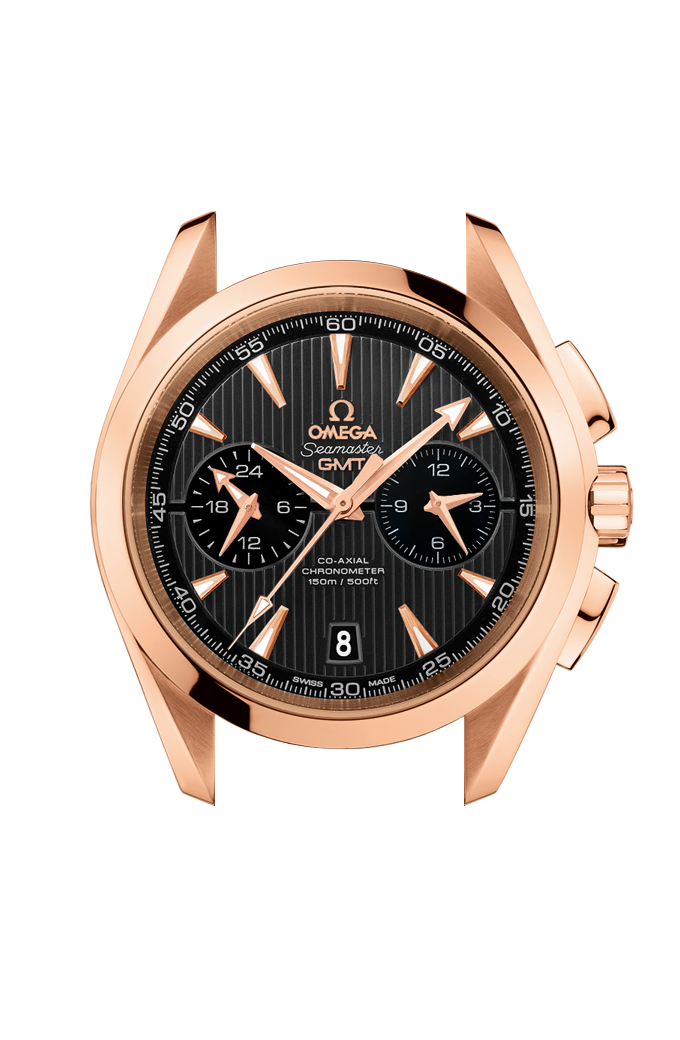 Omega Co-Axial GMT Chronograph 43 mm - 231.50.43.52.06.001