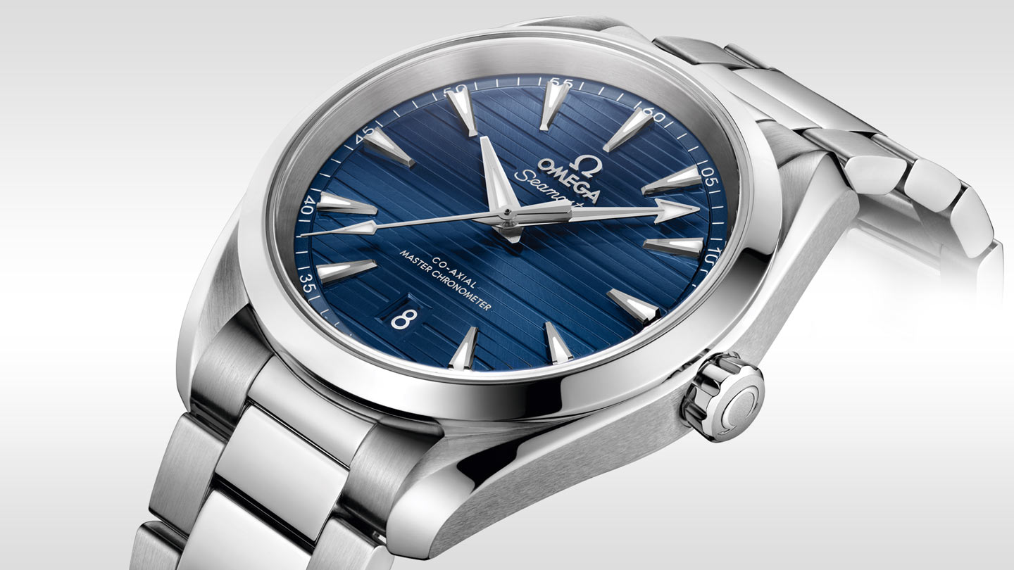 Seamaster Aqua Terra 150M Aqua Terra 150M Omega Co‑Axial Master Chronometer 38 mm - 220.10.38.20.03.001 - Visualizzare 1