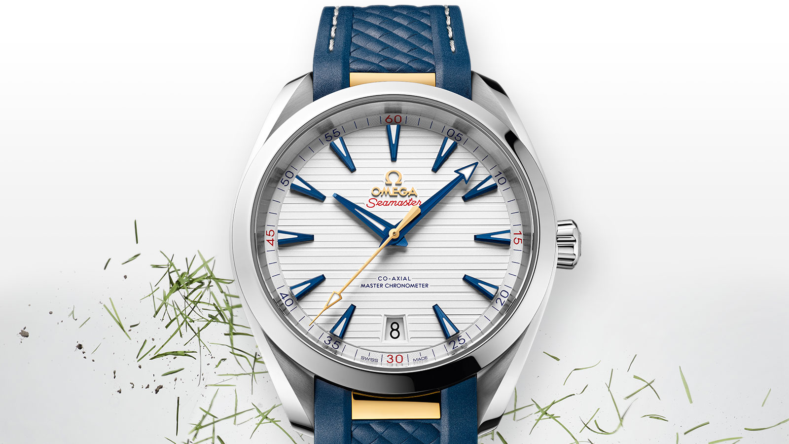 Seamaster Aqua Terra 150M Aqua Terra 150M Omega Co‑Axial Master Chronometer 41 mm Watch - 220.12.41.21.02.004
