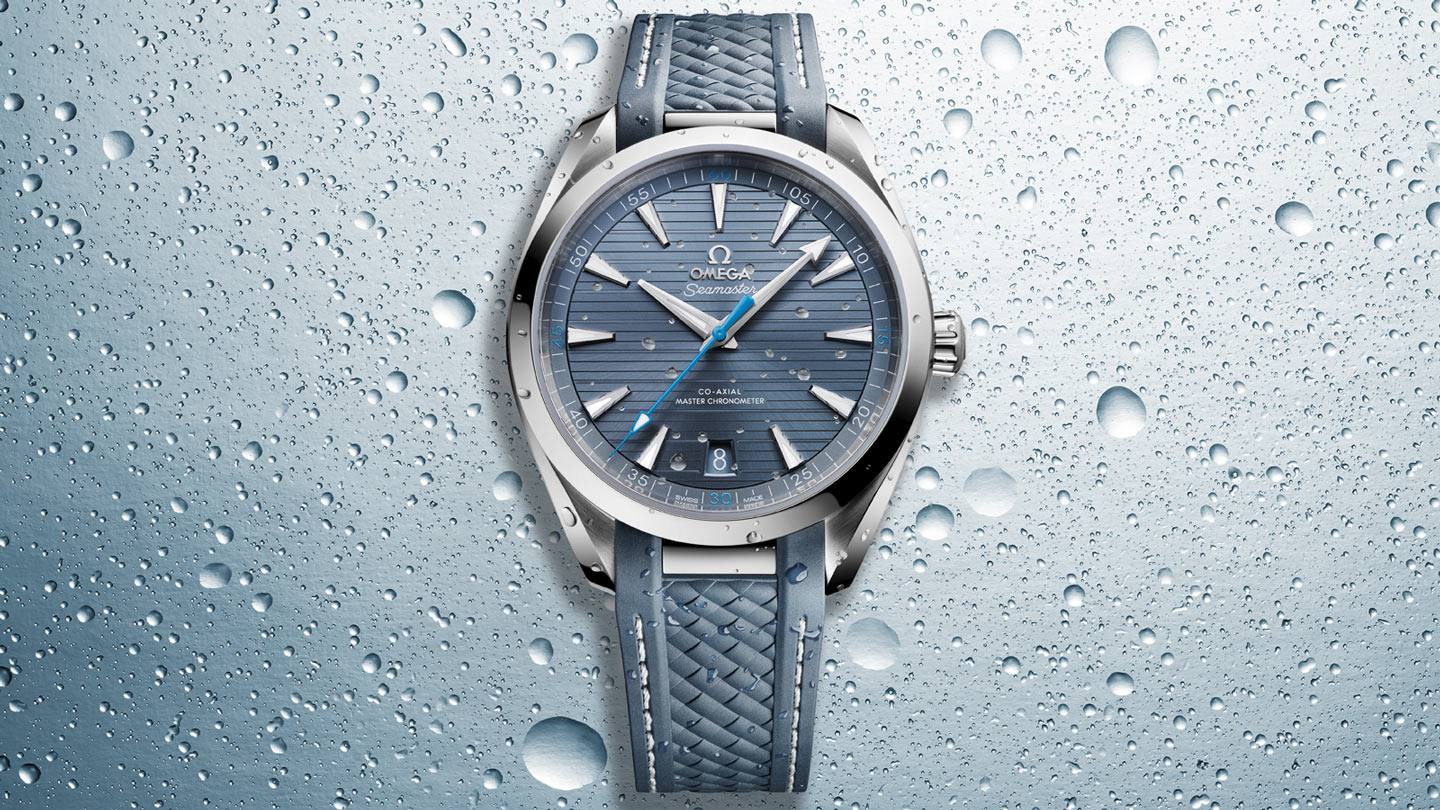 Seamaster Aqua Terra 150M Aqua Terra 150M Omega Co‑Axial Master Chronometer 41 mm - 220.12.41.21.03.002 - Visualizzare 1