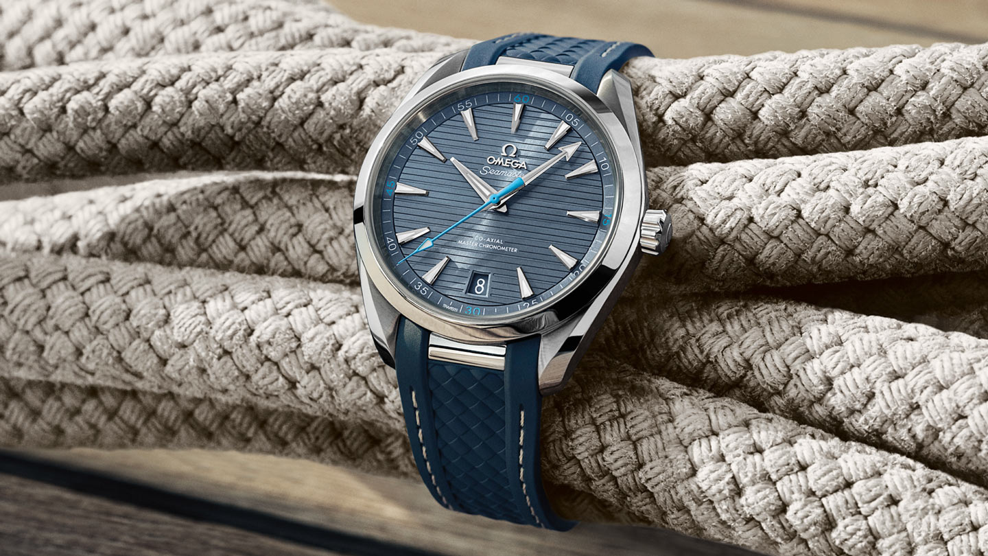 Seamaster Aqua Terra 150M Aqua Terra 150M Omega Co‑Axial Master Chronometer 41 mm - 220.12.41.21.03.002 - Visualizzare 3