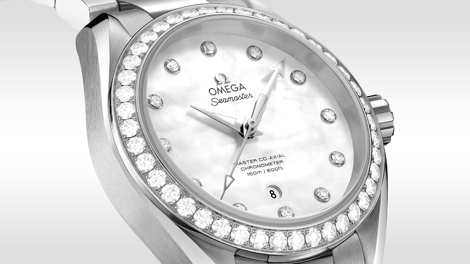 Seamaster Aqua Terra 150M Aqua Terra 150M Omega Master Co‑Axial 34 mm Donna - 231.15.34.20.55.002 - Visualizzare 1