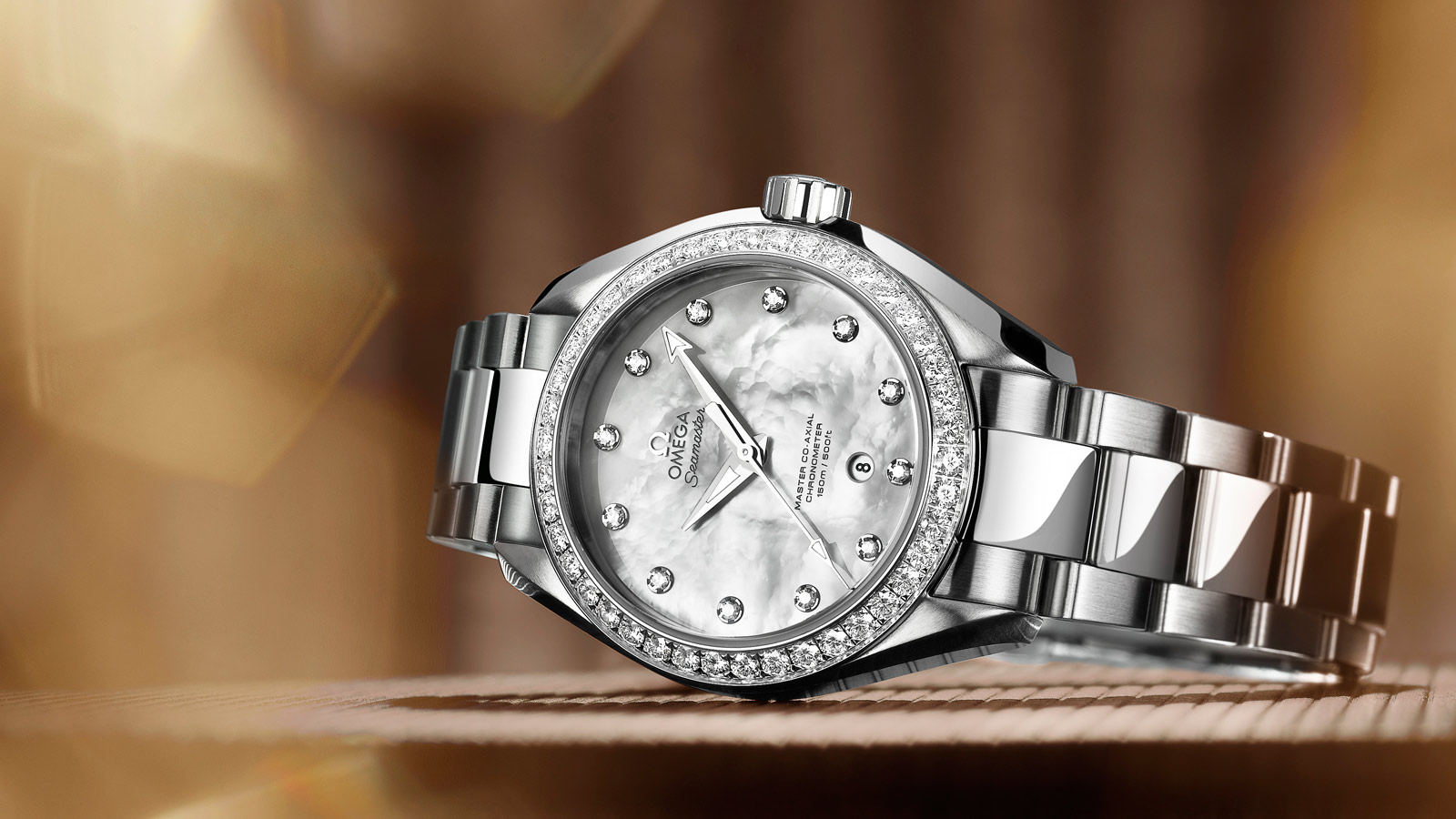 Seamaster Aqua Terra 150M Aqua Terra 150M Omega Master Co‑Axial 34 mm Donna - 231.15.34.20.55.002 - Visualizzare 2