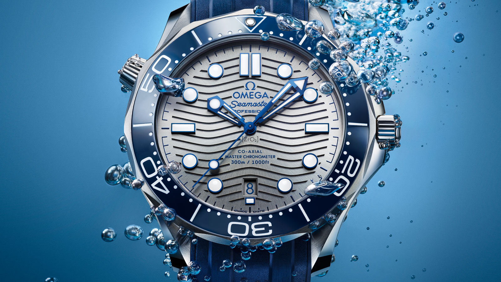 Seamaster Diver 300 M Diver 300M Omega Co‑Axial Master Chronometer 42 mm Watch - 210.32.42.20.06.001