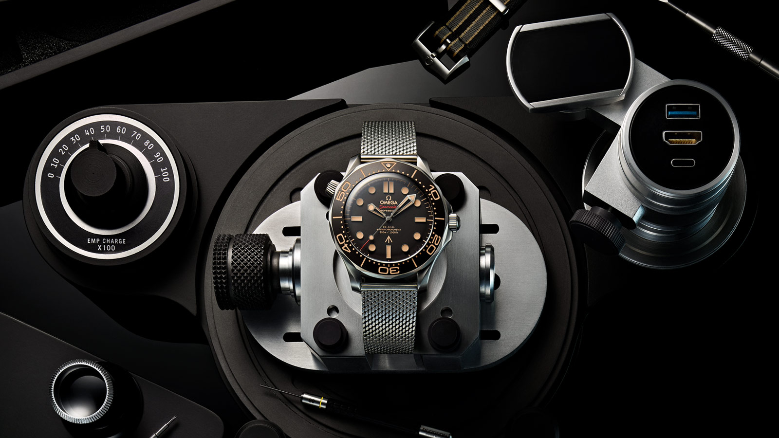 Seamaster Diver 300 M Diver 300M Omega Co‑Axial Master Chronometer 42 mm - 210.90.42.20.01.001 - View 1