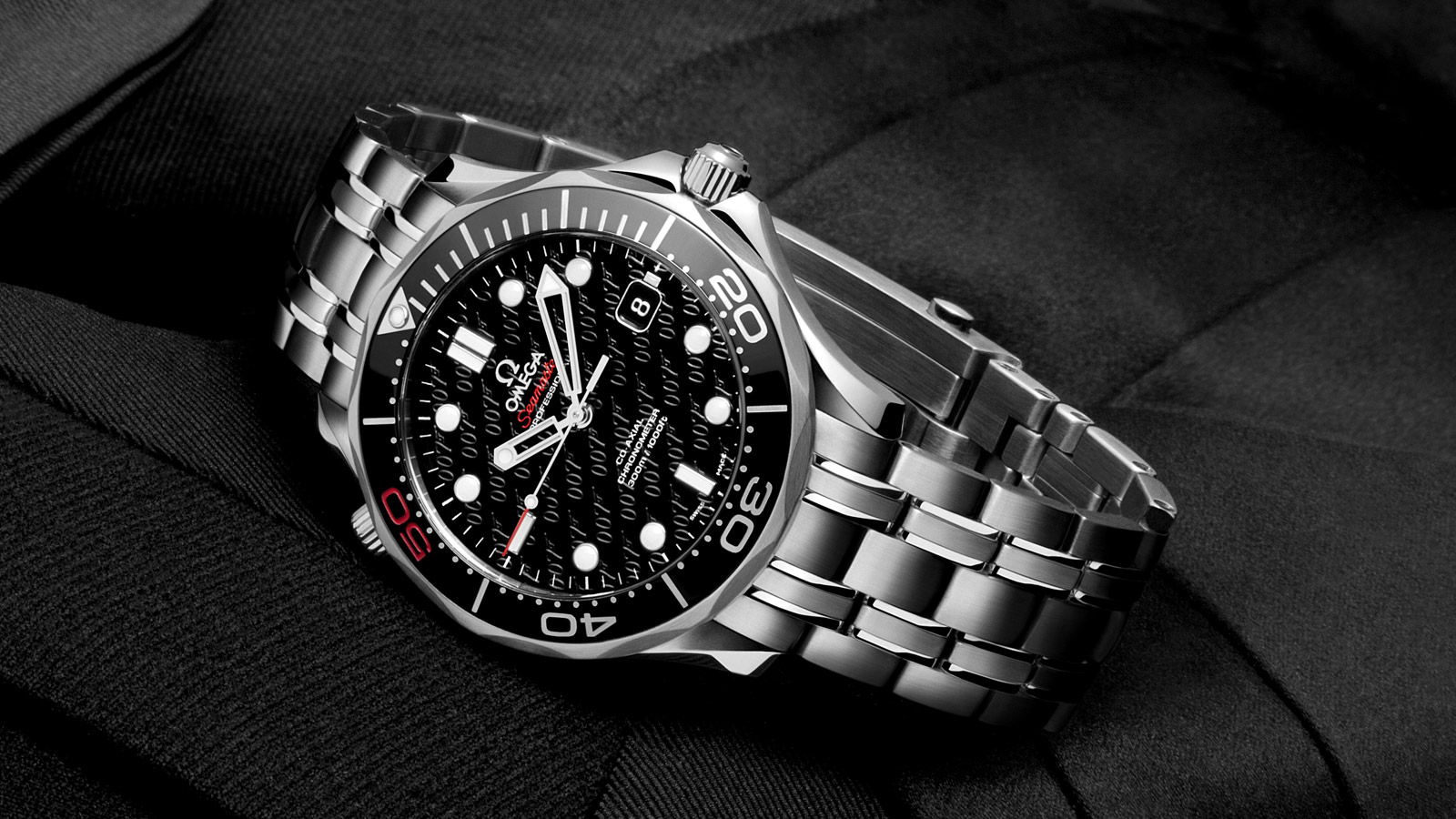 Omega Seamaster James Bond 50th Anniversary Watch 212 30