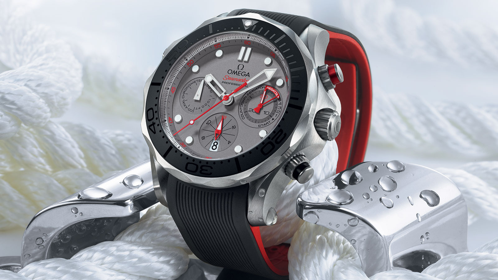 Seamaster Diver 300 M Diver 300M Co‑Axial Chronograph 44 mm Watch - 212.92.44.50.99.001