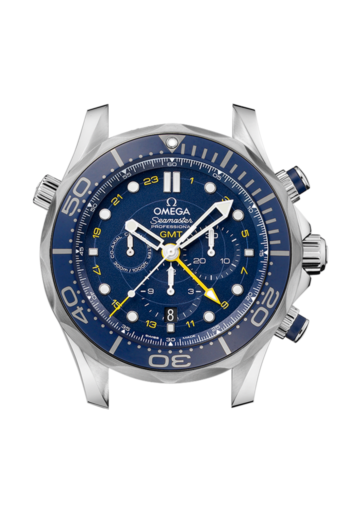 Co-Axial GMT Chronograph 44 mm - 212.30.44.52.03.001