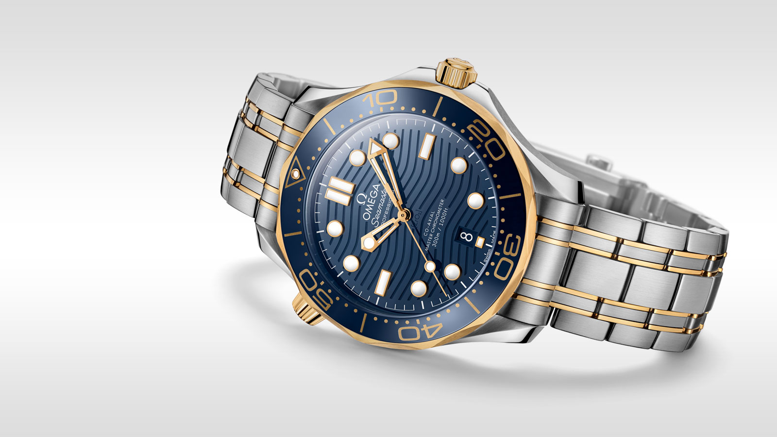 Seamaster Diver 300 M Diver 300M Omega Co‑Axial Master Chronometer 42 mm - 210.20.42.20.03.001 - View 1
