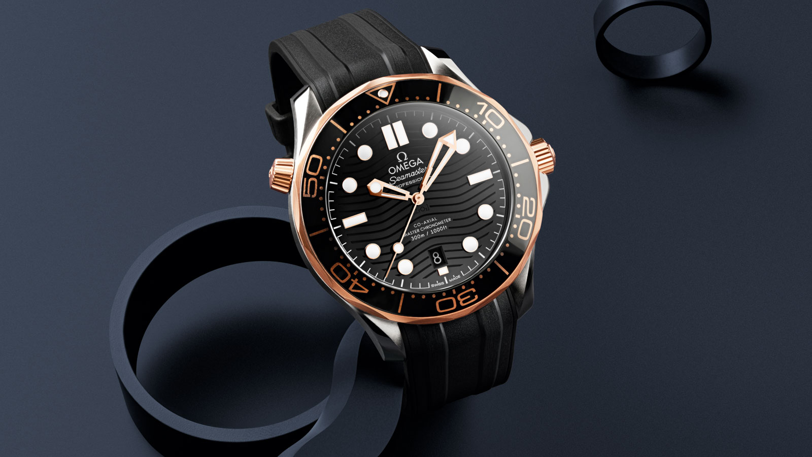 Seamaster Diver 300 M Diver 300M Omega Co‑Axial Master Chronometer 42 mm - 210.22.42.20.01.002 - View 1