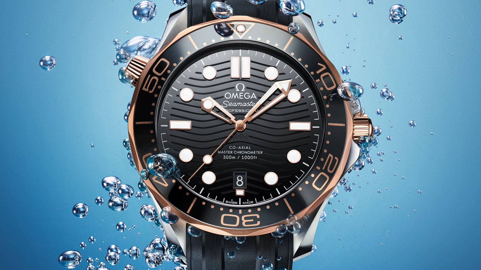 Seamaster Diver 300 M Diver 300M Omega Co‑Axial Master Chronometer 42 mm Watch - 210.22.42.20.01.002