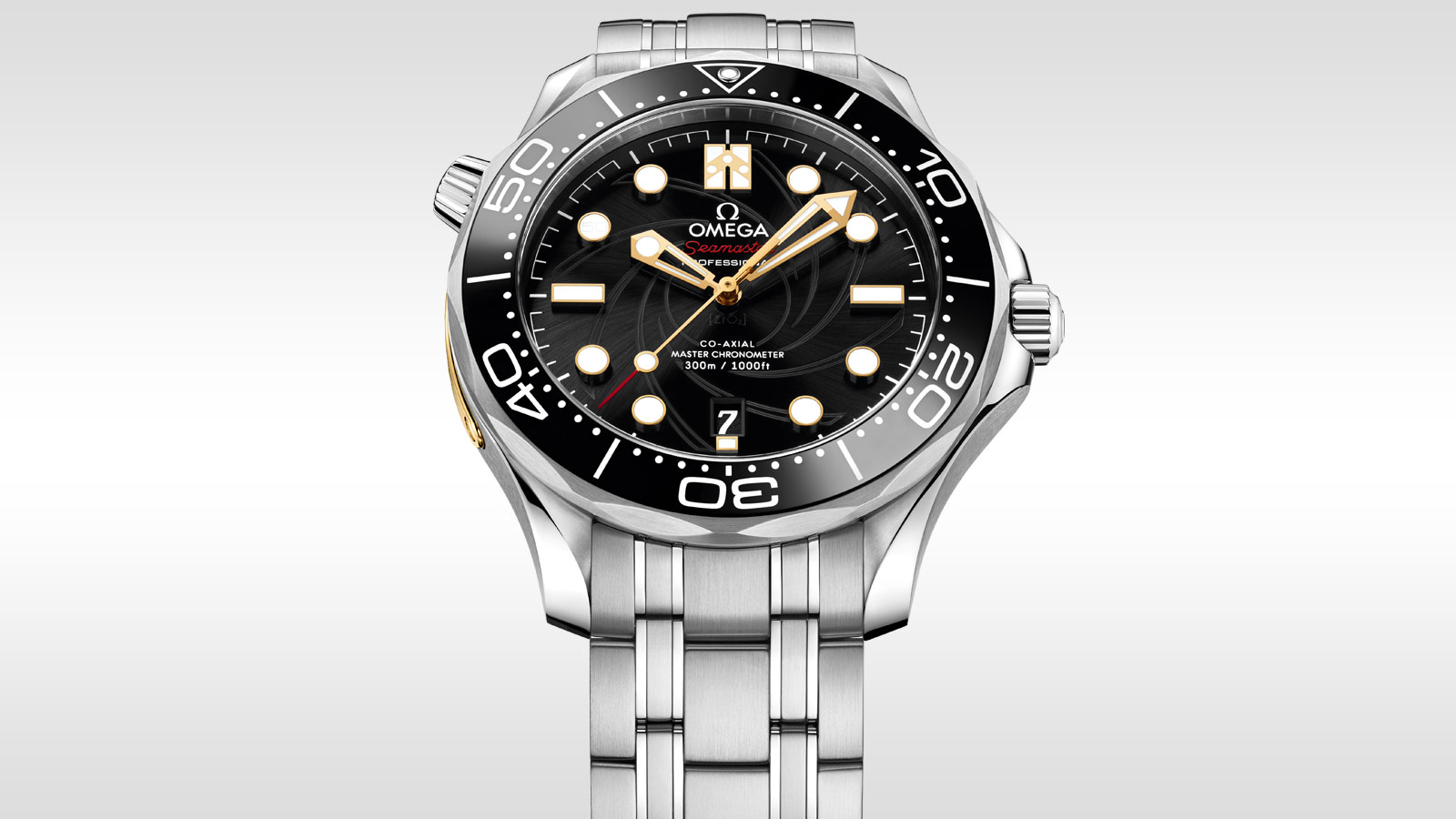 Seamaster Diver 300M Diver 300M Omega Co‑Axial Master Chronometer 42 mm - 210.22.42.20.01.004 - Vista 6