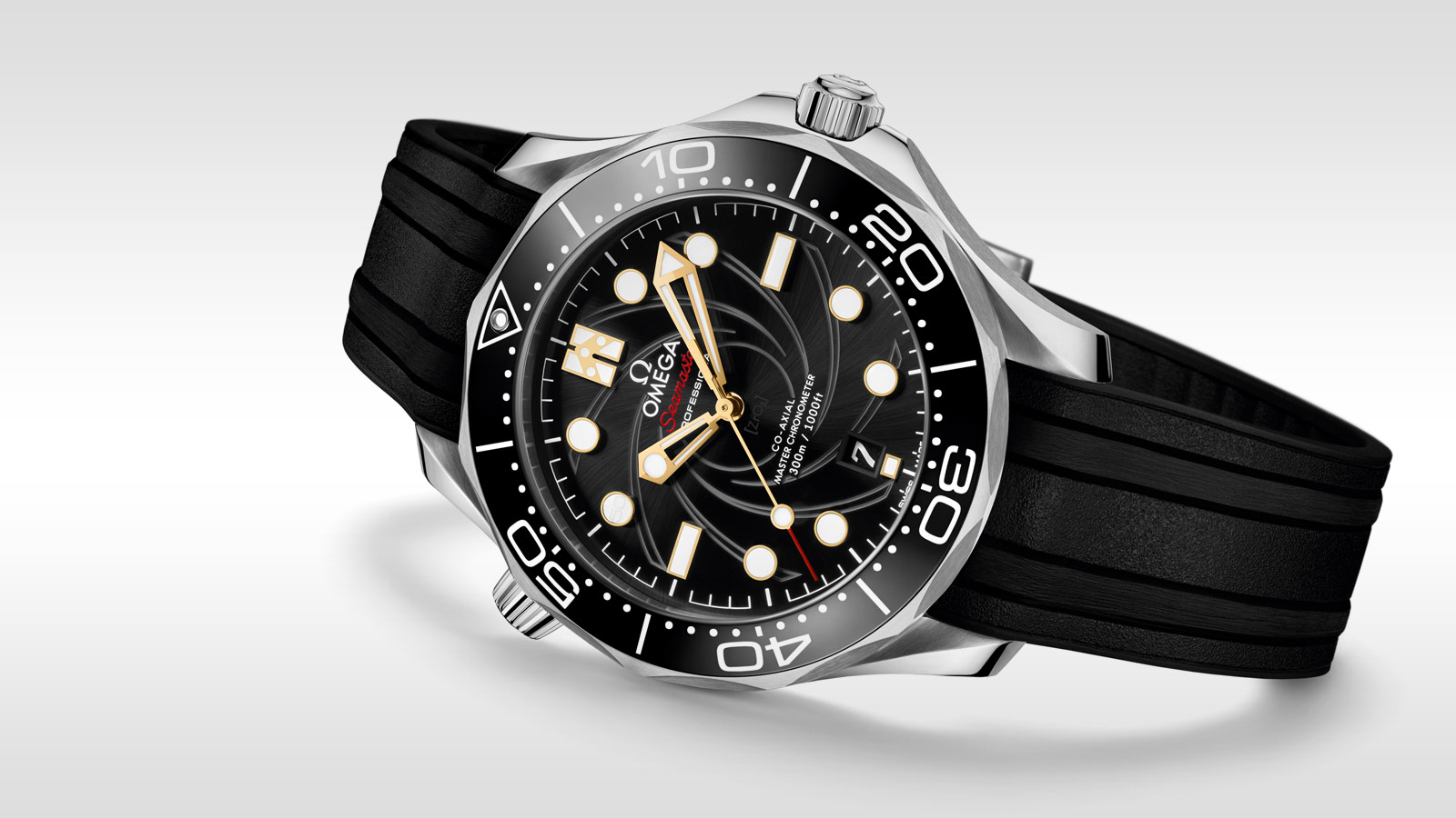 Seamaster Diver 300M Diver 300M Omega Co‑Axial Master Chronometer 42 mm - 210.22.42.20.01.004 - Vista 7