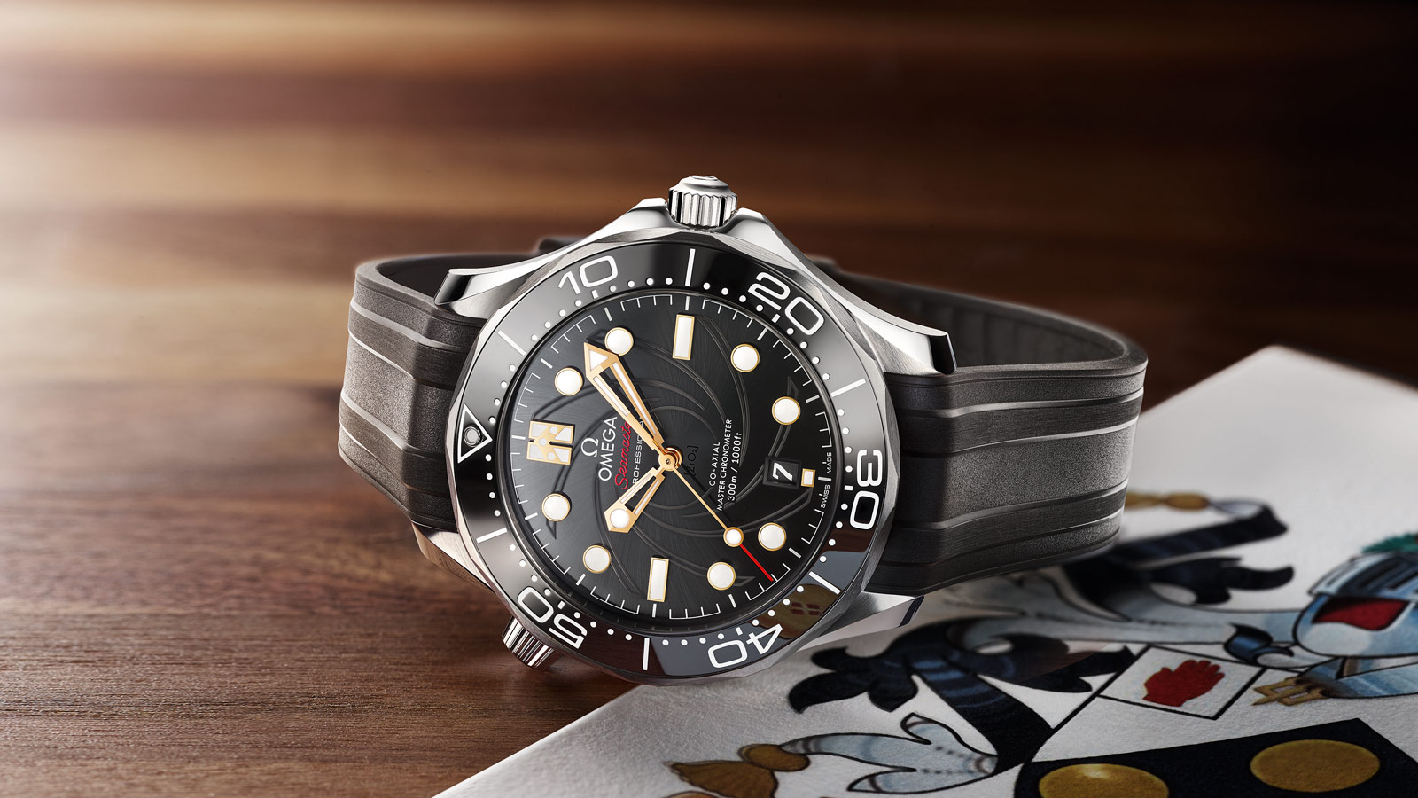Seamaster Diver 300 M Diver 300M Omega Co‑Axial Master Chronometer 42 mm Watch - 210.22.42.20.01.004