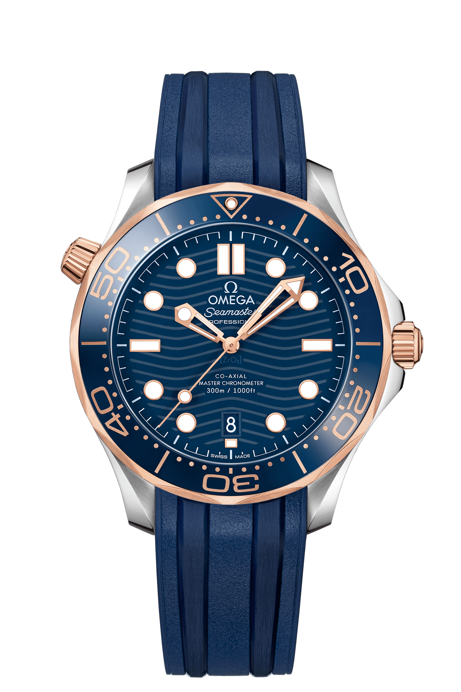 Omega Seamaster Co-Axial Master Chronometer Diver 300M Front