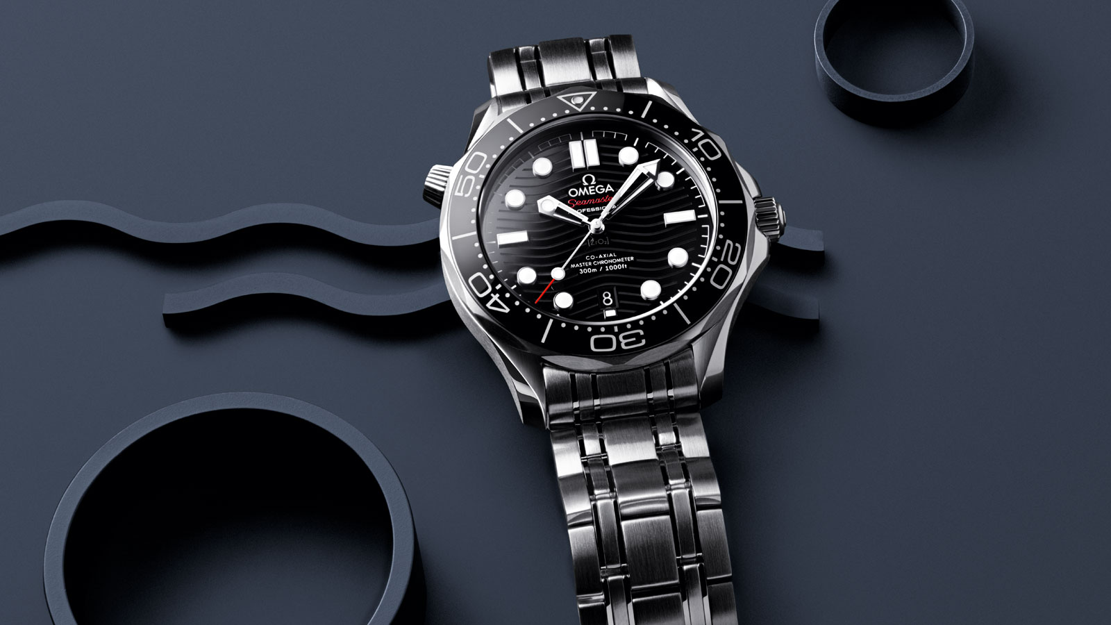 Seamaster Diver 300M OMEGA Co-Axial Master Chronometer 42 mm ...