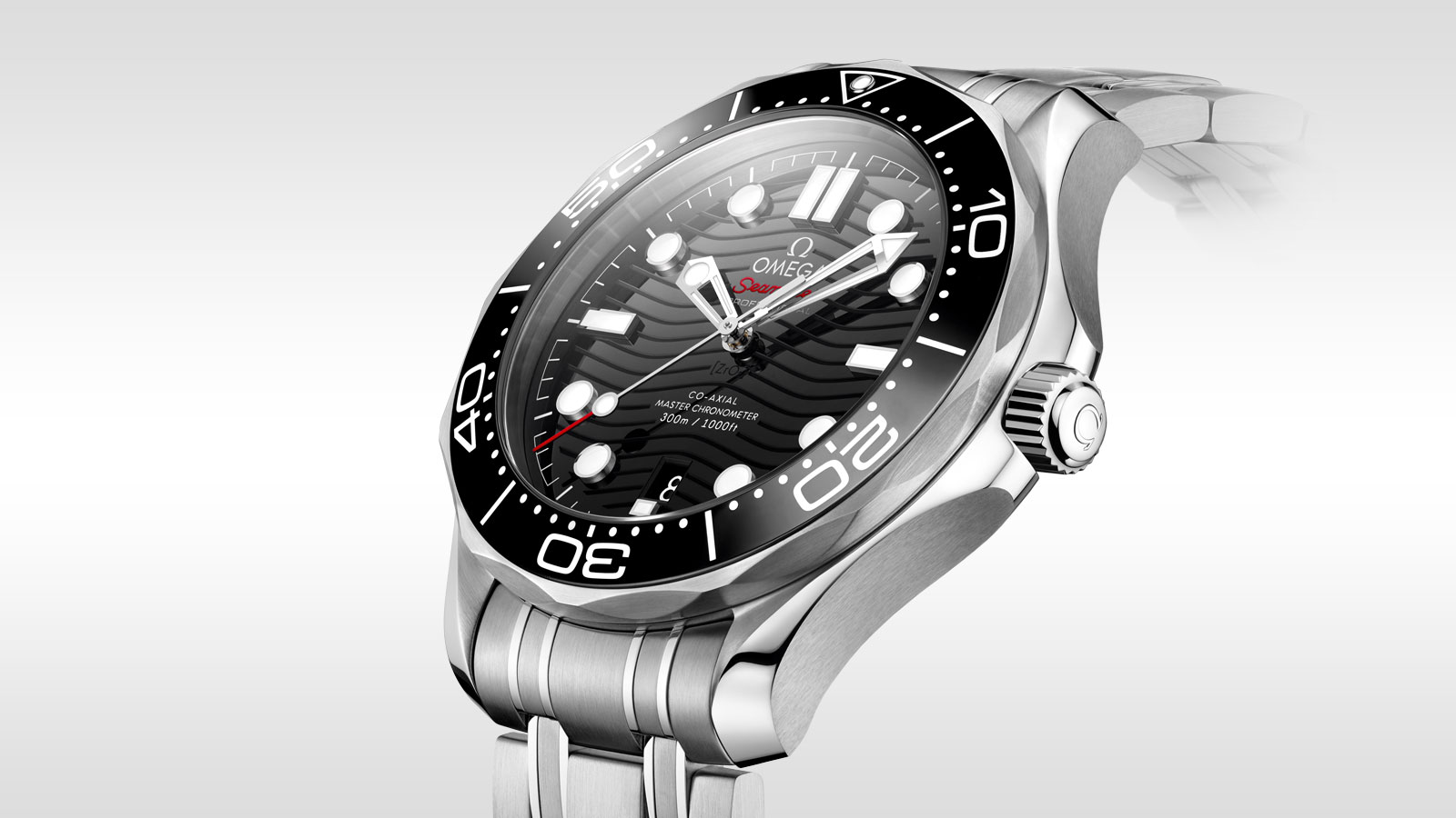 Seamaster Diver 300 M Diver 300M Omega Co‑Axial Master Chronometer 42 mm - 210.30.42.20.01.001 - View 2