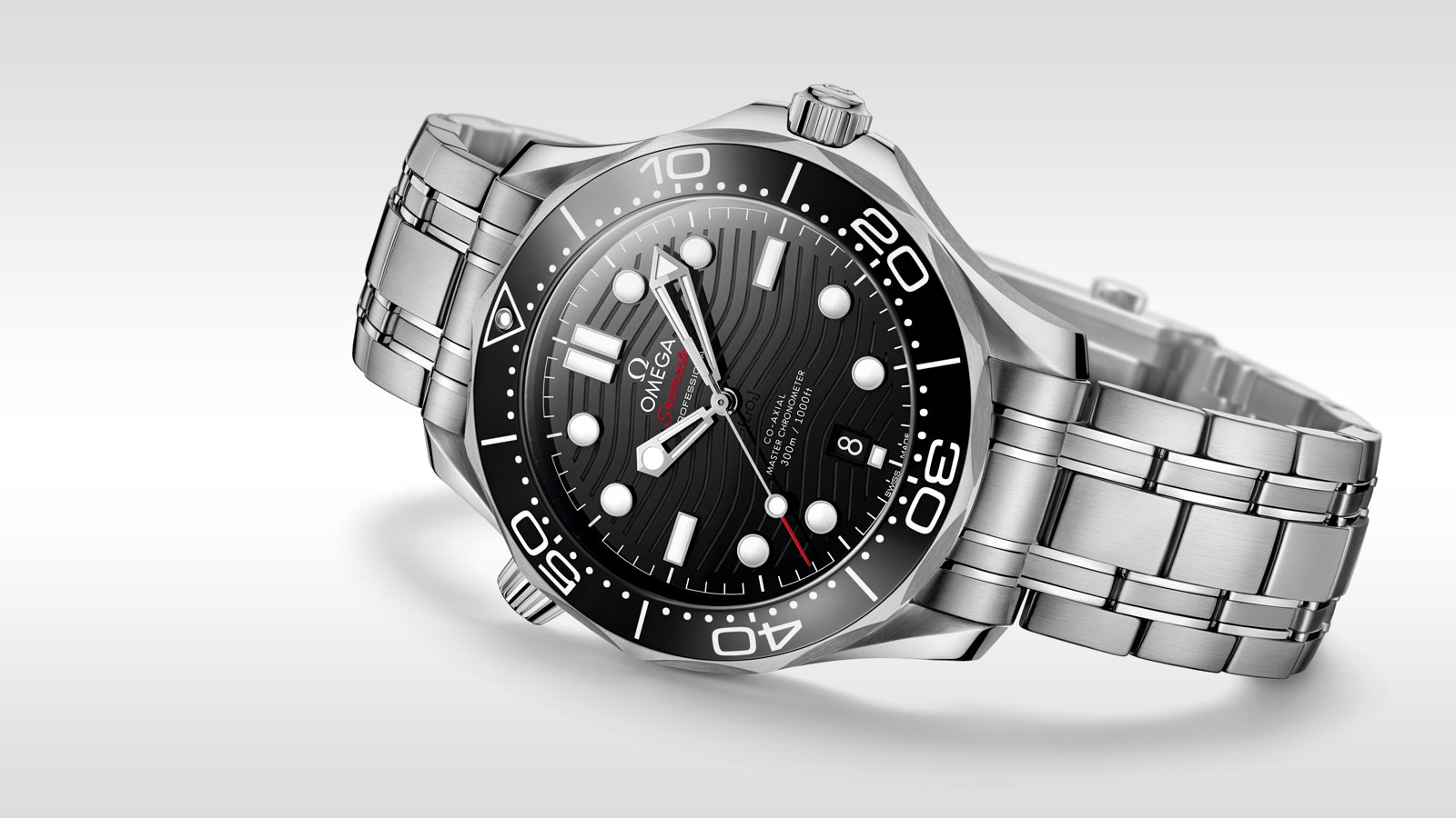 Seamaster Diver 300 M Diver 300M Omega Co‑Axial Master Chronometer 42 mm - 210.30.42.20.01.001 - View 3
