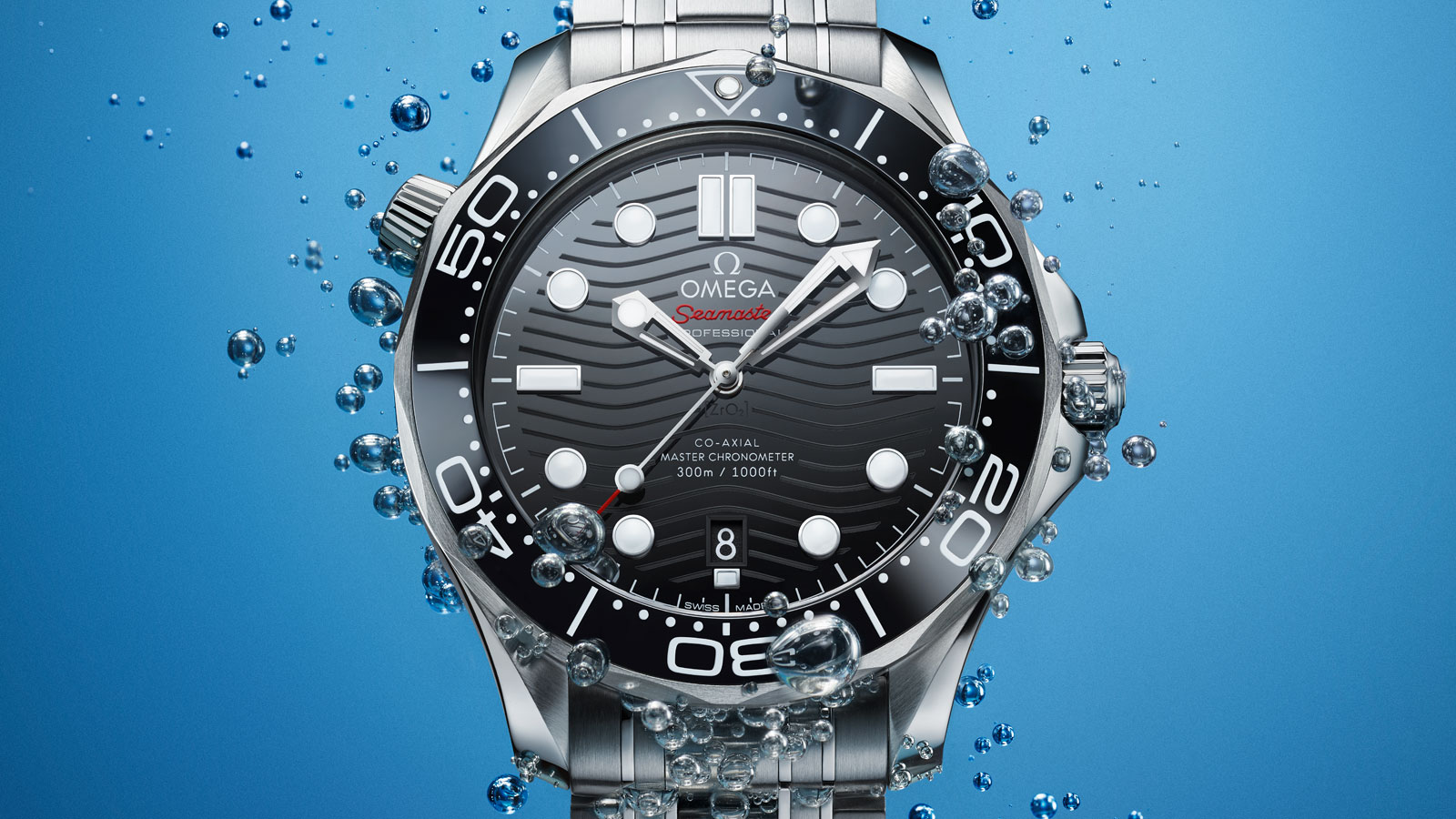 Seamaster Diver 300 M Diver 300M Omega Co‑Axial Master Chronometer 42 mm Watch - 210.30.42.20.01.001