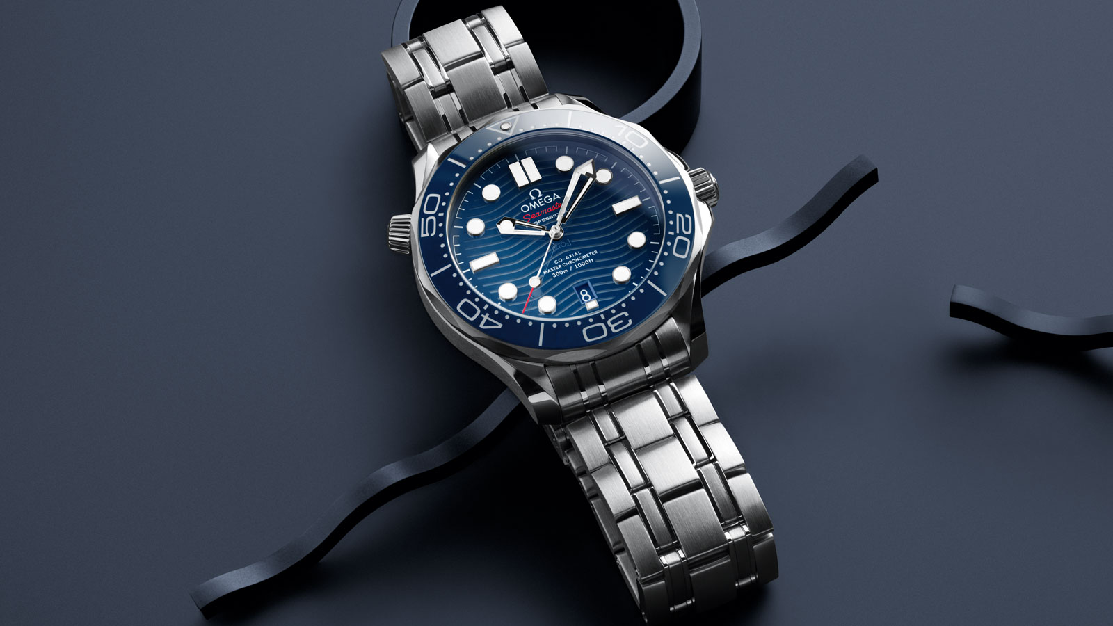 Seamaster Diver 300M Diver 300M Omega Co‑Axial Master Chronometer 42 mm - 210.30.42.20.03.001 - Vista 1