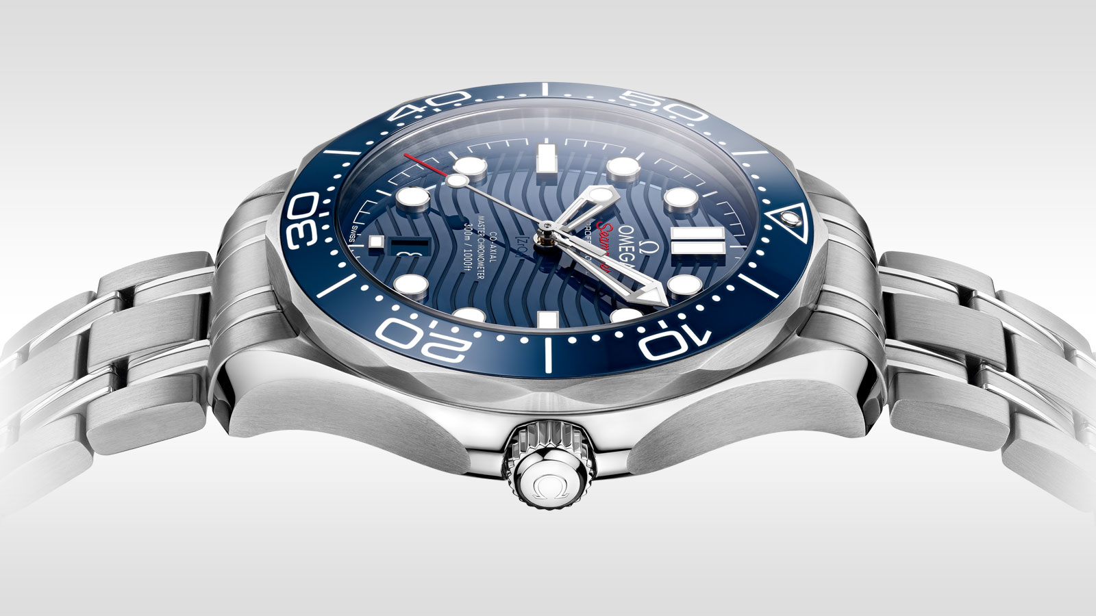 Seamaster Diver 300M Diver 300M Omega Co‑Axial Master Chronometer 42 mm - 210.30.42.20.03.001 - Vista 2