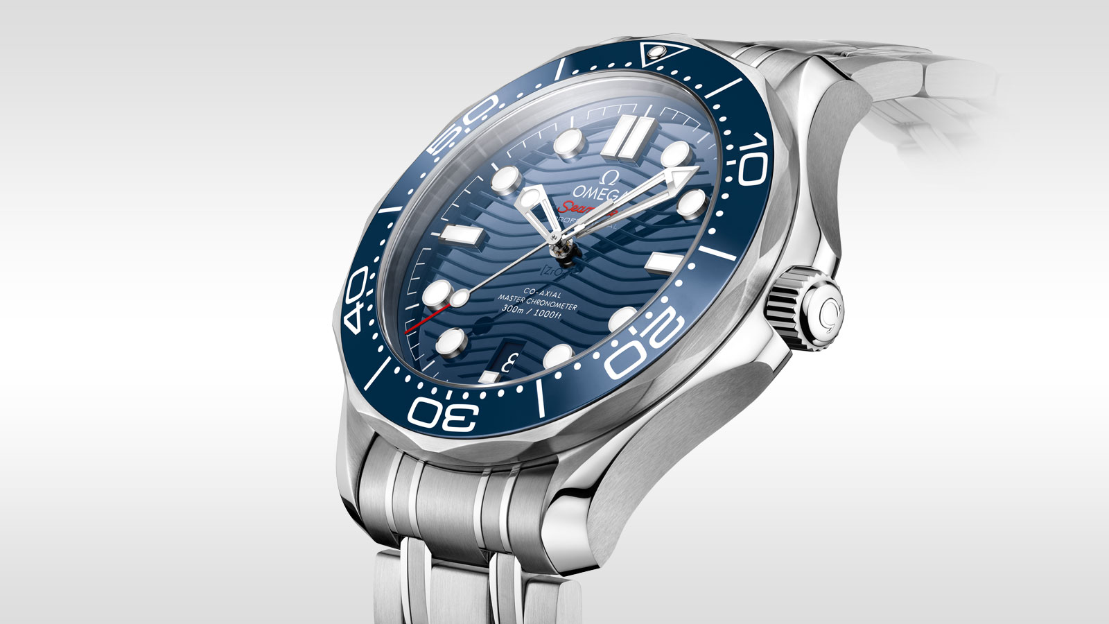 Seamaster Diver 300M Diver 300M Omega Co‑Axial Master Chronometer 42 mm - 210.30.42.20.03.001 - Vista 3