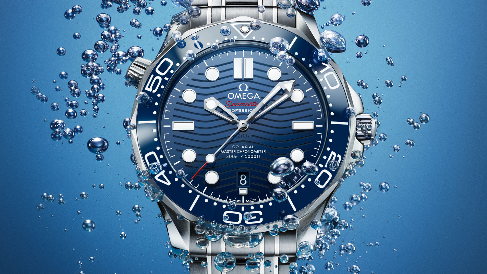 Seamaster Diver 300 M Diver 300M Omega Co‑Axial Master Chronometer 42 mm Montre - 210.30.42.20.03.001