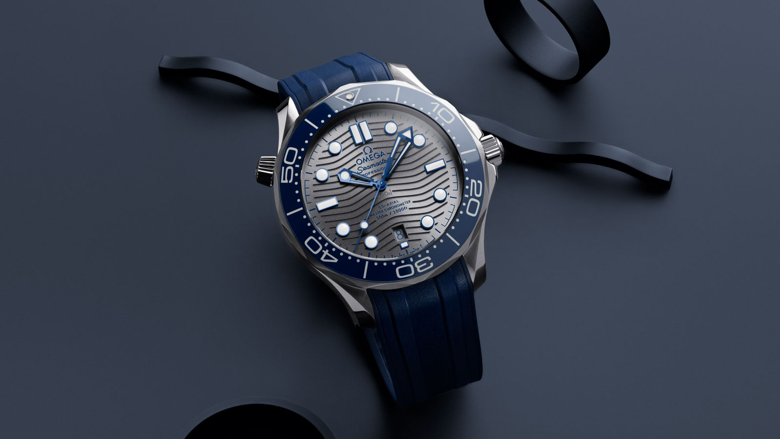 Seamaster Diver 300 M Diver 300M Omega Co‑Axial Master Chronometer 42 mm - 210.32.42.20.06.001 - Afficher 1