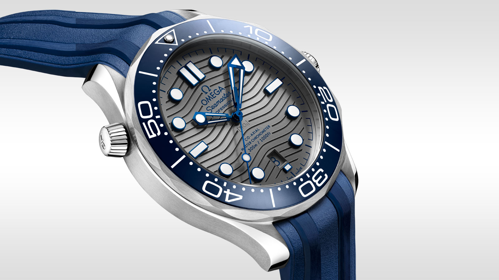 Seamaster Diver 300 M Diver 300M Omega Co‑Axial Master Chronometer 42 mm - 210.32.42.20.06.001 - Afficher 2