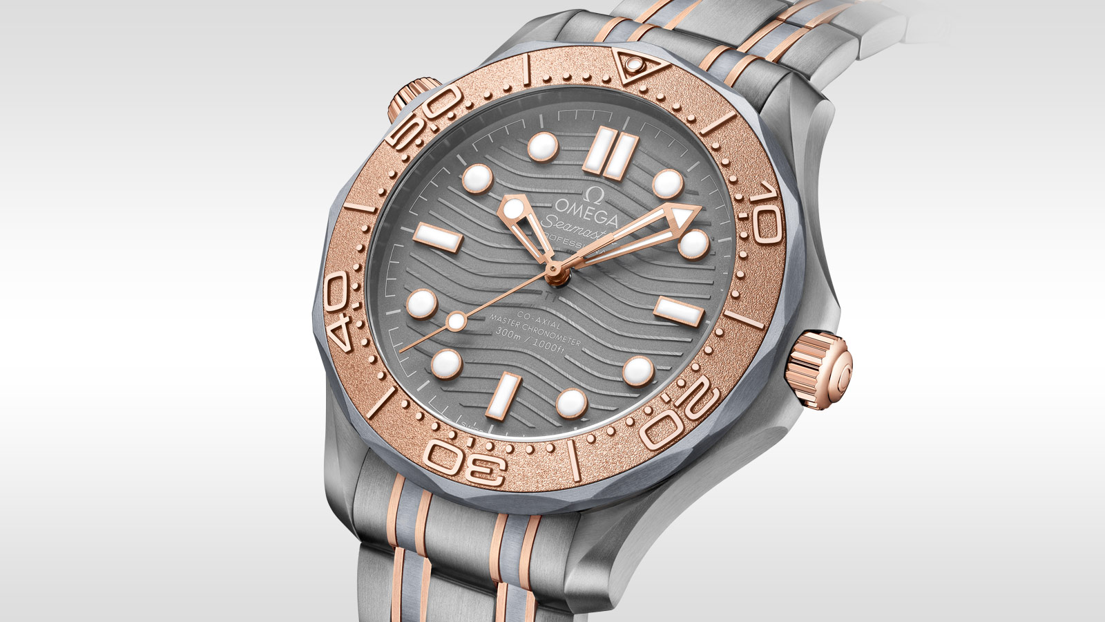 Seamaster Diver 300 M Diver 300M Omega Co‑Axial Master Chronometer 42 mm - 210.60.42.20.99.001 - Visualizzare 1